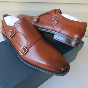 NEW Men's COLE HAAN Dawes Grand Monk-Strap Shoes